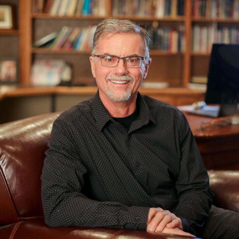 Pastor Mike Bronson, moderator of Spiritual Growth Conference.