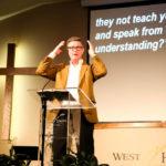 Dr. David McAlpin Preaching at #SGC18